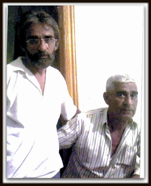 с братом Сулейманом 2006