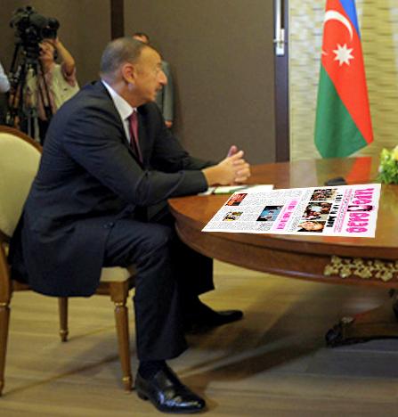 Russia's President Putin, Armenia's President Sargsyan and Azerbaijan's President Aliyev attend a meeting at the Bocharov Ruchei state residence in Sochi