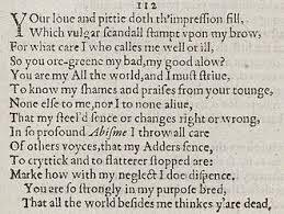 sonnet 112