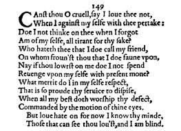 sonnet 149